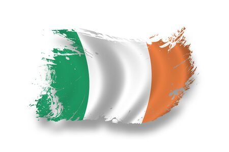 Flag of Ireland Stock Photo - 7734285