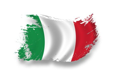 old flag: Flag of Italia