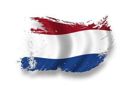Bandiera olandese  Archivio Fotografico - 7734292