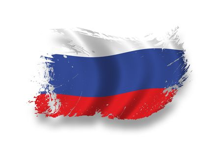 Flag of Russia Stock Photo - 7734282