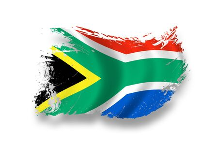south african: Flag of South Africa