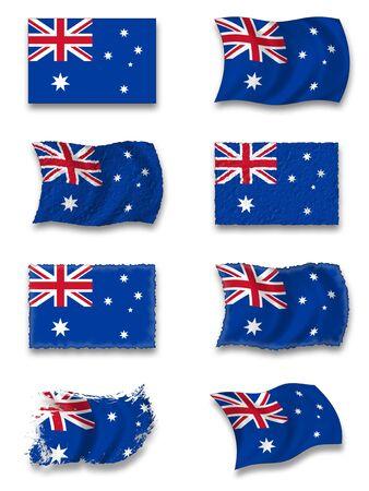 australian animal: Bandera de Australia
