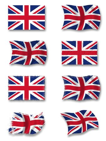 great britain: Drapeau de la Grande Bretagne  Banque d'images