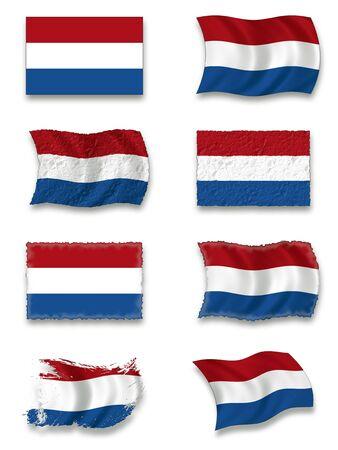 Flag of Netherland Stock Photo - 7734199