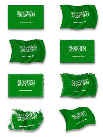 hajj: Flag of Saudi Arabia