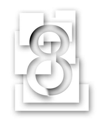 7 8: Number 8