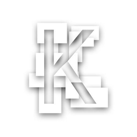 Letter - K Stock Photo - 8609238