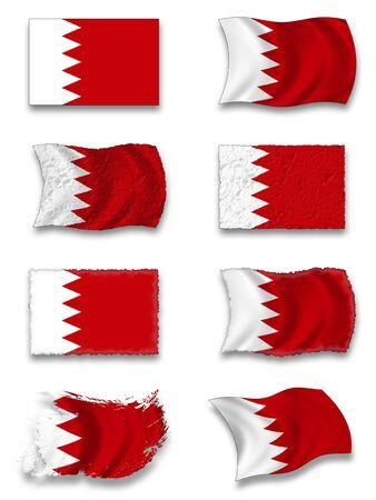 Flag of Bahrain photo
