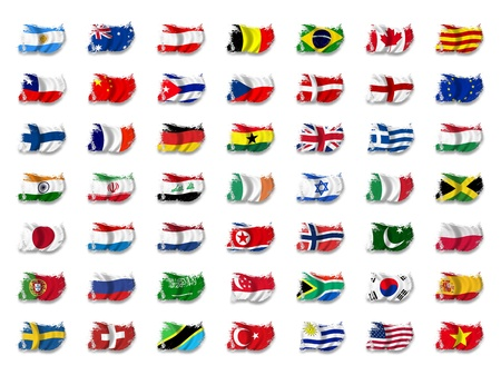 Flag Mix Stock Photo - 8649749