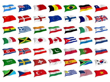 Flag Mix Stock Photo - 8649742
