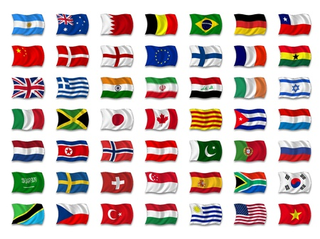 Flag Mix Stock Photo - 8649743