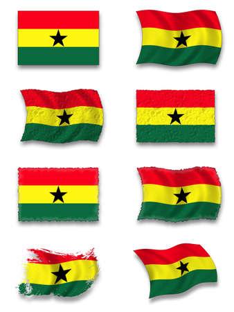 ghana: Flag of Ghana