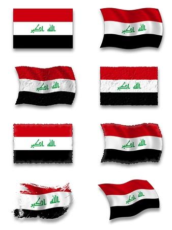 Flag of Iraq Stock Photo - 8649776