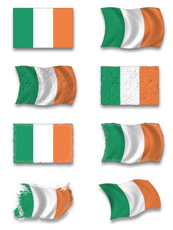 Flag of Irish Stock Photo - 8649778