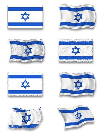 Flag of Israel Stock Photo - 8649959