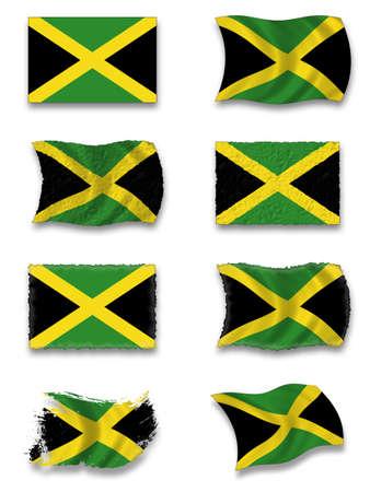 Flag of Jamaica photo