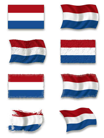 Flag of Netherland Stock Photo - 8649784