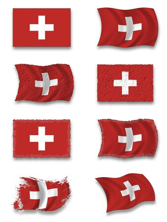 swiss: Flag of Switzerland