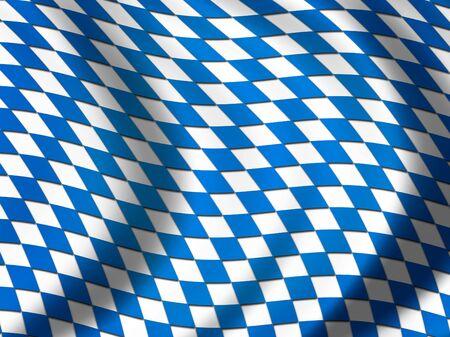 Flag of Bavaria photo