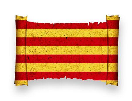 catalonia: Flag of Catalonia
