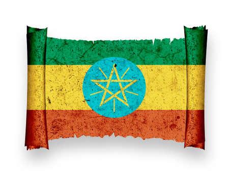 Flag of Ethiopia photo