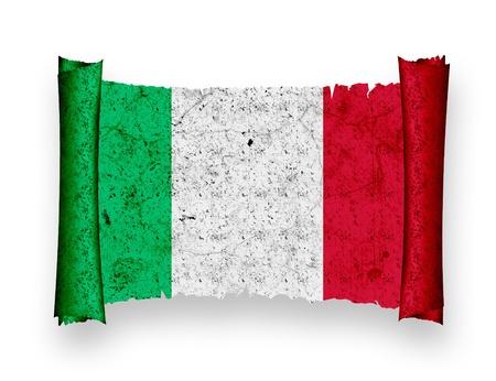 italia: Flag of Italia