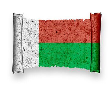 Flag of Madagascar photo