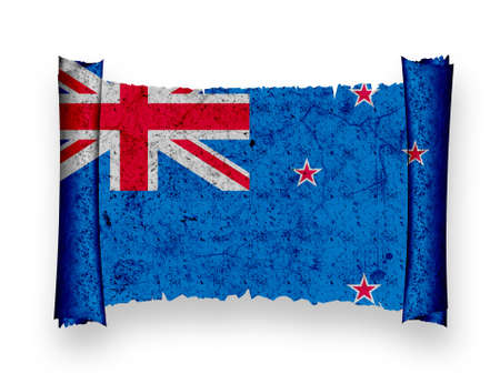 Flag of New Zealand photo