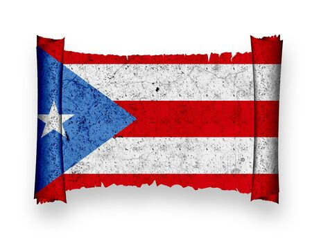 Flag of Puerto Rico photo