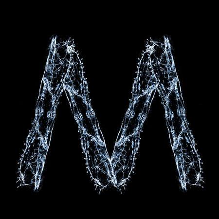 M- Font Stock Photo - 8793270