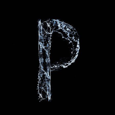 P - Font photo