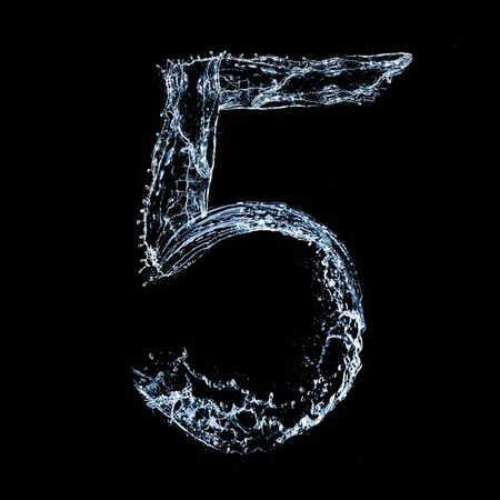 ice font: number 5