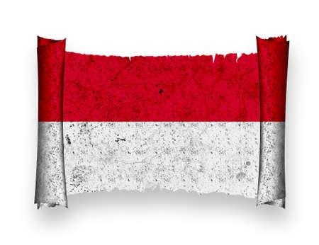 Flag of Indonesia photo