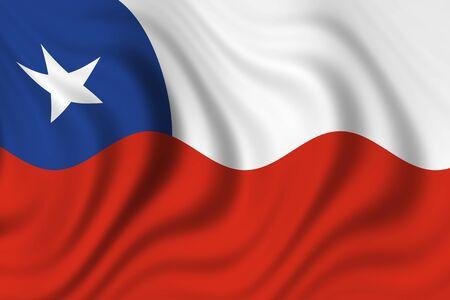 チリの国旗 写真素材 - 8895545
