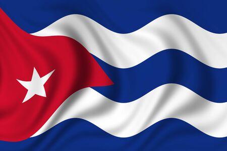 flag of cuba photo
