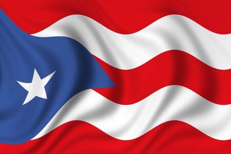 puerto rico: flag of puerto rico