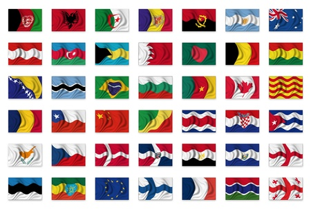 Mix Flag-Collection - 1 photo