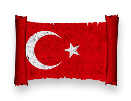 Flag of Turkey photo