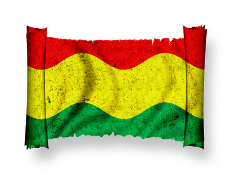 Flag of Bolivia Stock Photo - 8895917
