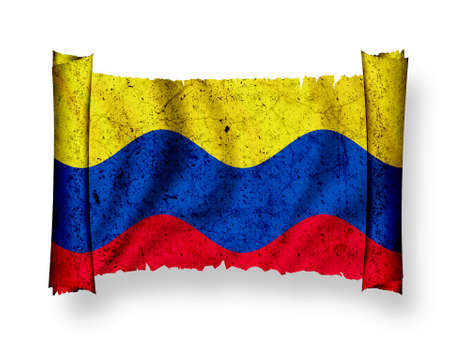 Flag of Colombia photo