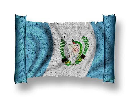 Flag of Guatemala Stock Photo - 8895868
