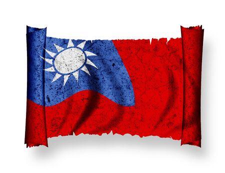 Flag of Taiwan photo