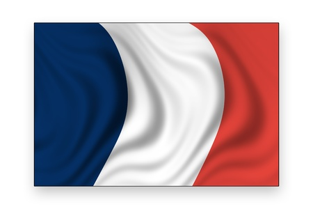 flag of france Stock Photo - 8996354
