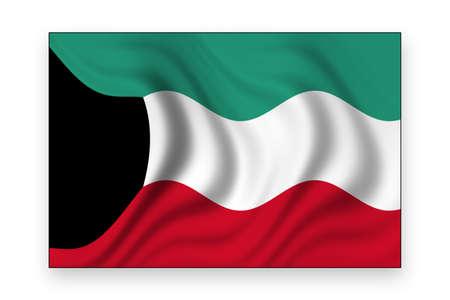 flag of kuwait photo