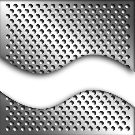 metal lattice: Metal sheet