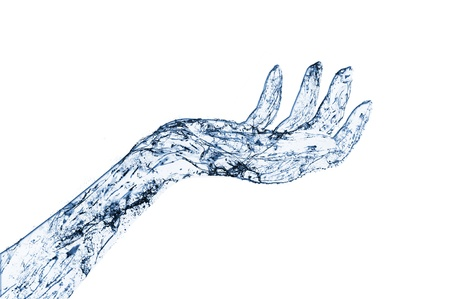 water hand: Abstract Waterhand