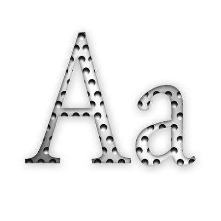 Letter - A photo