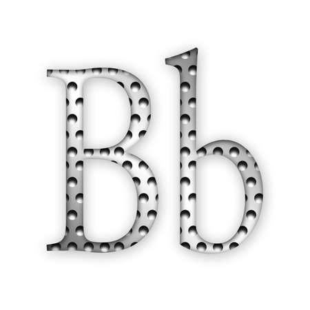Letter - B photo