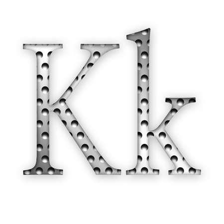 Letter - K photo