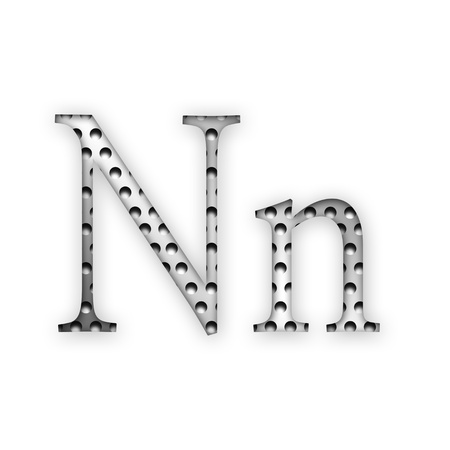 Letter - N photo